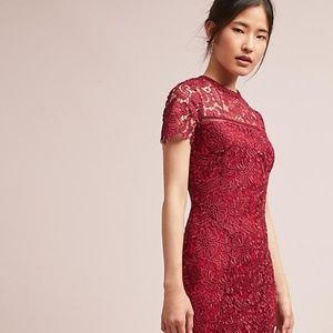 Anthropologie Rowena Lace Dress